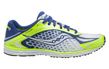 saucony Men's Type A5 citron/blue/white